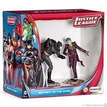 <><  22510 Batman Vs Joker scenery pack figure Schleich Justice leaguue ... - $17.41