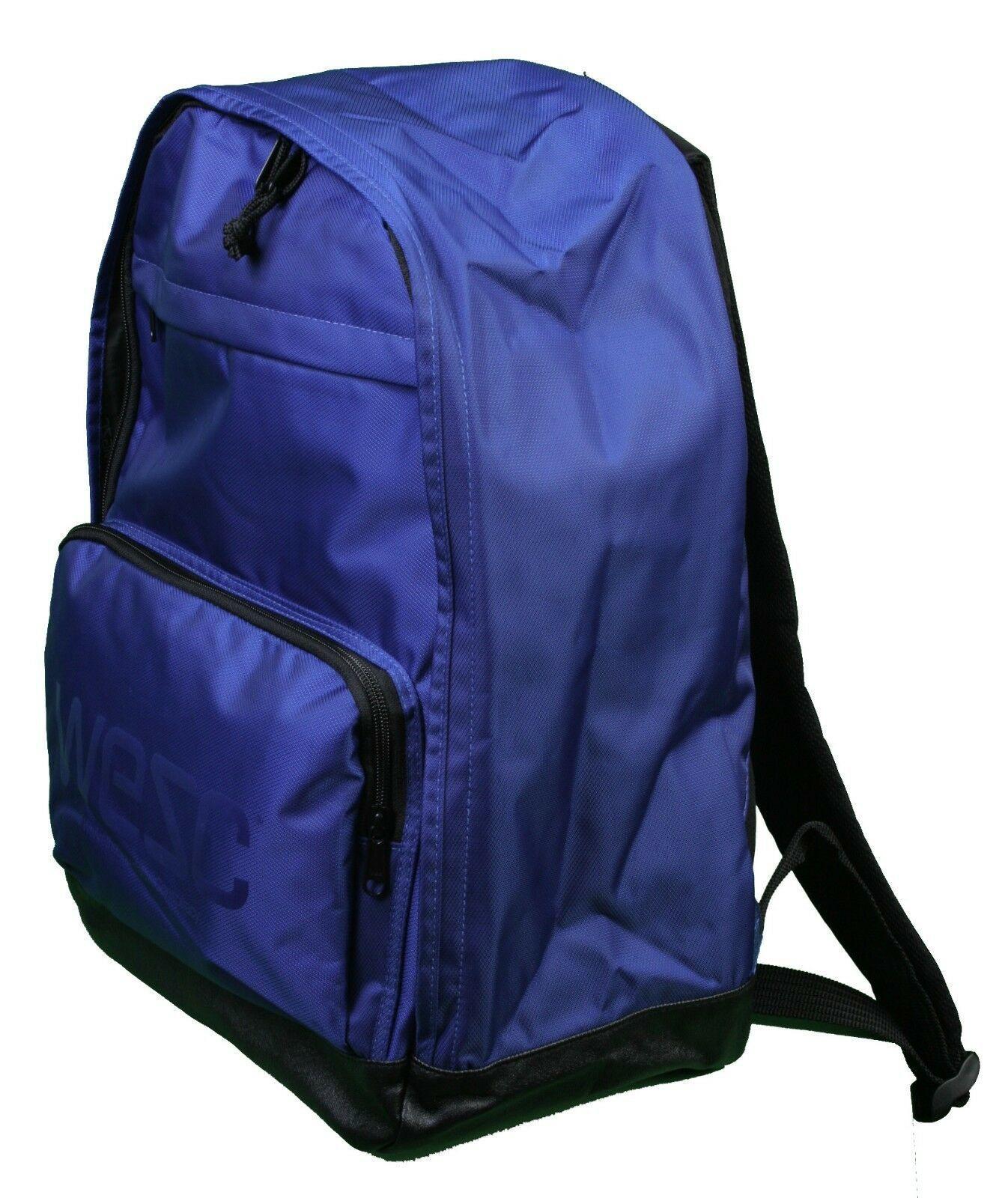 WeSC We Superlative Conspiracy Cullen Deep Ultramarine Blue Backpack School Bag