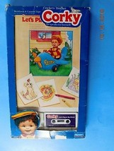 1987 CORKY CRICKETT'S BROTHER  BOOK CASSETTE LET'S PLAY AT MY HOUSE  in ... - $18.81