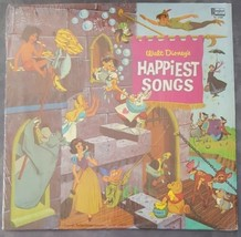 Walt Disney's Happiest Songs Disneyland Records Vintage Vinyl Album Snow... - $24.74