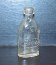 Amsco Miniature Doll E Toys Glass Bottle - $14.15