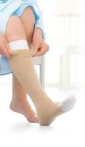 Jobst 114480 UlcerCare Non-Zippered Unisex Open Toe Knee Highs - Size- Medium wi - $77.12