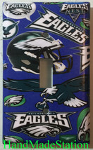 Philadelphia Eagles Light Switch Power Outlet Duplex Wall Cover Plate Home Decor