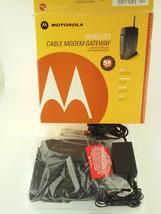 Motorola SURFboard SBG900 Wireless Cable Modem Gateway in Box With Adapter - $35.99