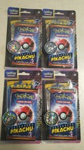 Lot of 4 - Pokemon Detective Pikachu Booster Pack Trading Cards W/ Coin 2019 - $18.95