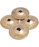 2 Pairs Turkey Belly Dance Zills Sagats (Golden Zills) - $11.76