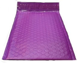 """25 6.5x10 Purple Poly Bubble Mailer Envelope Shipping 6""""x10"""" Air Mailing... - $17.69"""
