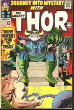 Journey Into Mystery THOR 122 Stan Lee & Jack Kirby Marvel Comics 1965 1... - $78.00