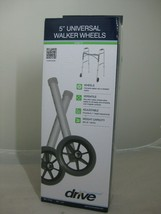 "Drive Medical Universal 5"" Walker Wheels, Gray Item 10109 - $19.99"