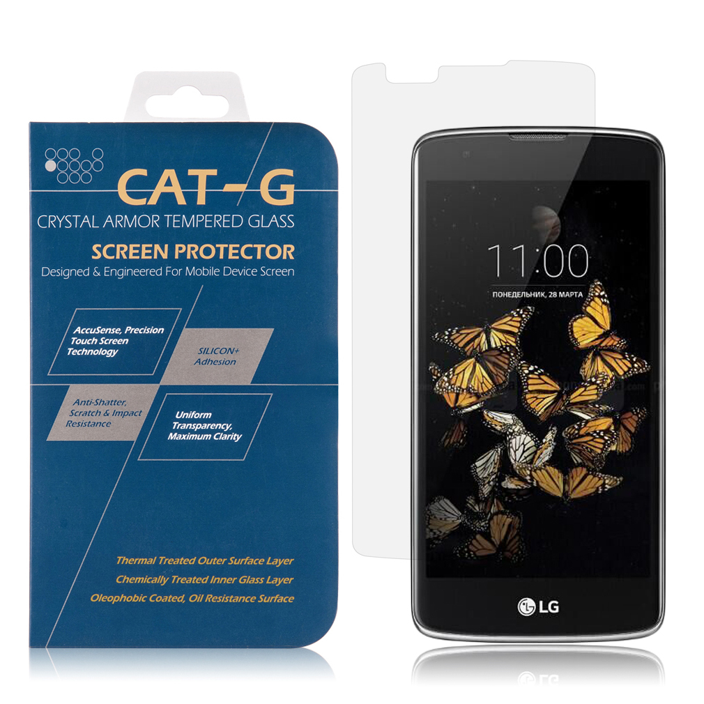 Primary image for LG K8 / Escape 3 Tempered Glass Screen Protector 0.33mm Arcing/PH-TSPLGK8/One si