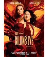 KILLING EVE: SEASON 3 DVD - THE COMPLETE THIRD SEASON [2 DISCS] - NEW UN... - $27.99