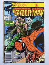 Web Of Spider-Man 27 Marvel Comics Scared To Succeed - $4.94