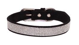 Reopet Bling Rhinestone Dog Cat Collar - Sparkly Diamond Studded Small Dog Kit - $24.54