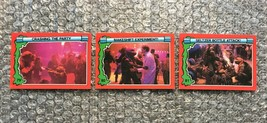 1991 Topps Teenage Mutant Ninja Turtles TMNT II Movie Cards Lot: #79, #80 & #81 - $3.92