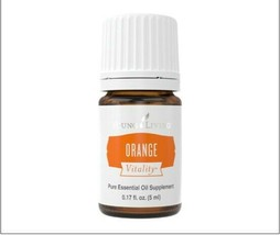 Young Living Orange Vitality Essential Oil 5ml - New! - $8.99