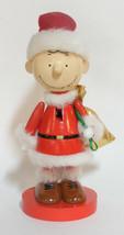 Kurt S. Adler P EAN Uts Charlie Brown Wooden Nutcracker Christmas Decoration - $24.88