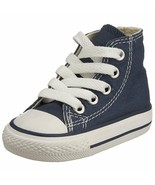 Converse Infant/Toddlers Chuck Taylor All Star Hi Navy 7J233 - $37.65