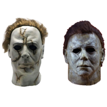 Michael Myers Halloween Mask Full Face Helmet Mask Scary Props Toy for H... - £12.72 GBP