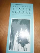 Historic Temple Square Information Brochure 1986 - $3.00