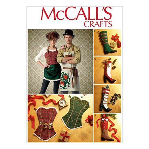 Primary image for McCall Pattern Company M7062OSZ Aprons and Stockings Sewing Template, One Size