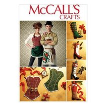 McCall Pattern Company M7062OSZ Aprons and Stockings Sewing Template, On... - $14.21