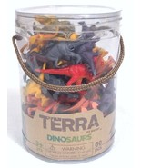 Terra - Dinosaurs Mini Figure Set - 60 Pieces COMPLETE EUC - $9.79
