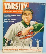 1949 Varsity The Young Man's MAGA Lou Boudreau Cleveland Indians Manager... - $3.95