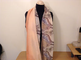 MAD fashion New scarf  Pastels Floral and High Heel Shoe Pattern choice of color image 14