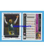 Brett Favre 2005 Topps 50th Anniversary Chrome Packers Football Card #139 - $8.00