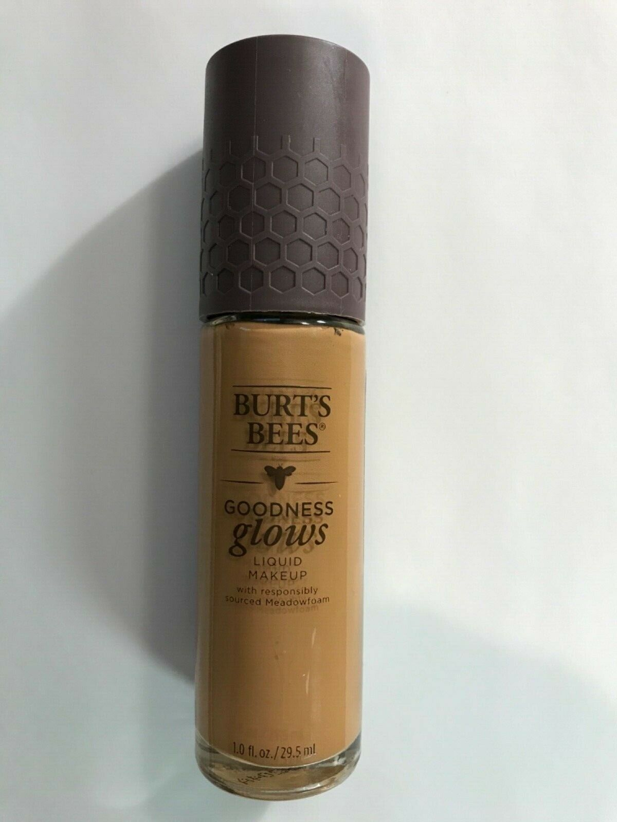 Primary image for Burt's Bees Goodness Glows Full Coverage Liquid Makeup in #1056 WALNUT