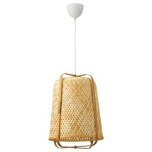 "IKEA KNIXHULT Pendant lamp 21"", Bamboo, 604.071.34 - BRAND NEW  - €73,31 EUR"