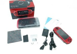 Sony Psp Console Value Pack Red & Black Japan Rare Collectors Item Excellent - $179.98
