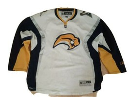 Reebok Buffalo Sabres jersey 2Xlarge 2XL Ice Hockey NHL mens away hockey... - $61.23