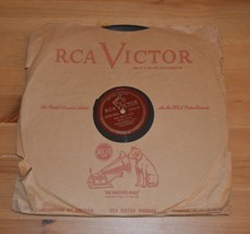 """James Melton The Palms/The Holy City RCA Victor 78rpm 12"""" Shellac Record - $16.65"""