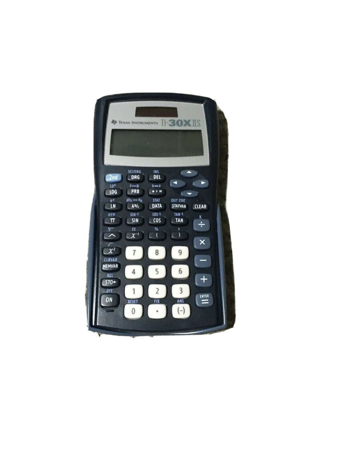 Primary image for Texas Instruments TI-30X IIS Blue Scientific Calculator with Cover TESTED