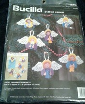 Bucilla Angel Ornaments/Magnets Plastic Canvas 6159 New Christmas Holiday - $15.25