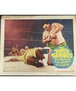 THE THREE STOOGES GO AROUND THE WORLD IN A DAZE LOBBY TITLE CARD POSTER ... - $46.75