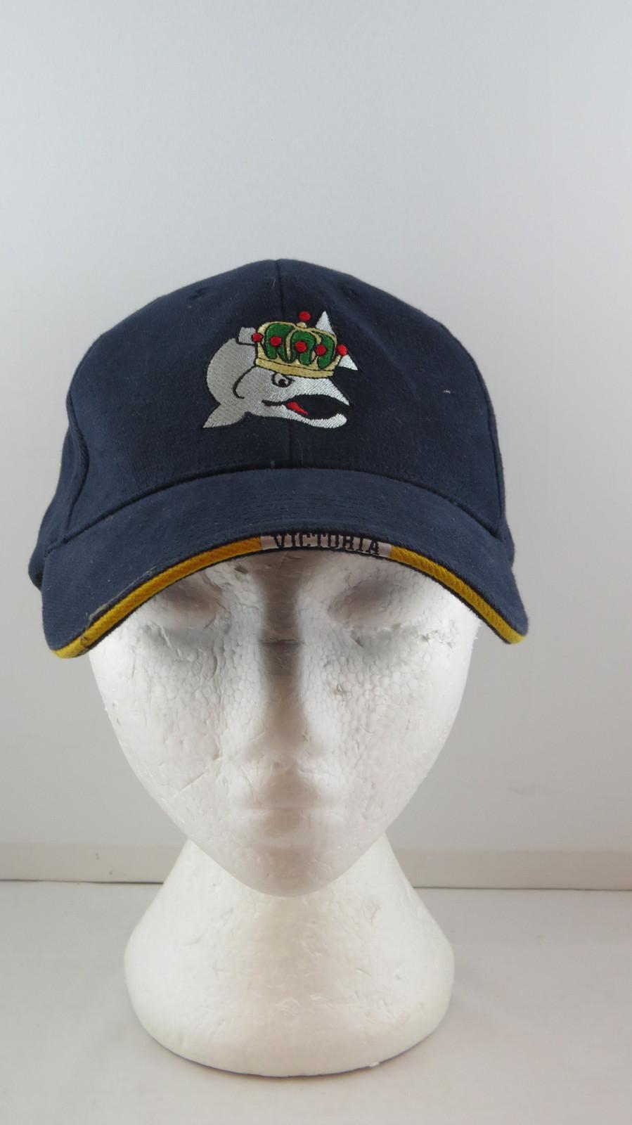Victoria Salmon Kings Hat - Classic Team Logo - Adult Elastic Back