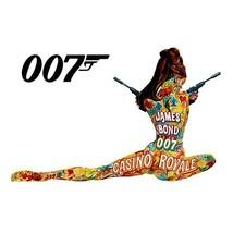 James Bond T-shirt 007 Original Casino Royal 1970 vintage cotton graphic tee image 2