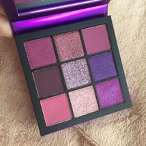 BRAND NEW HUDA BEAUTY Obsessions Eyeshadow Palette – Amethyst 100% Authe... - $28.97