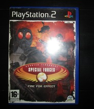 SPECIAL FORCES-FIRE FOR EFFECT (PS2) - $14.00