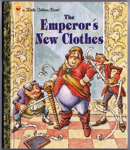 The Emperor's New Clothes Little Golden Book 1983