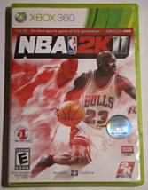 XBOX 360 - NBA 2K 11 (Complete with Manual) - $12.00