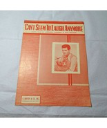 Vintage 1950 Can't Seem to Laugh Anymore Piano Sheet Music Johnny Parker - $9.89