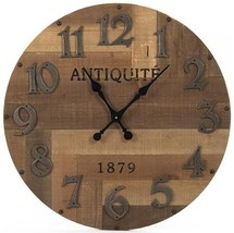 DARCY Wall Clock Fir Resin FREE SHIPPING* - $279.00