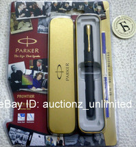 Parker Frontier Matte Black GT Roller Ball Pen Ballpen Brand New Sealed ... - $14.99
