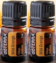 2x5ml doTERRA Wild Orange Pure Therapeutic Grad... - $12.95