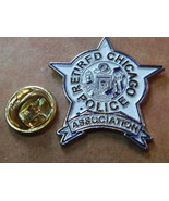 Police retired Chicago Police Association mini badge lapel pin - $6.75