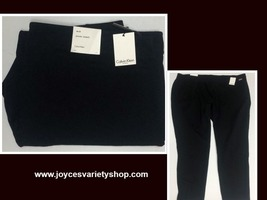 Calvin Klein Power Stretch Black Pants Women Sz 3X image 1