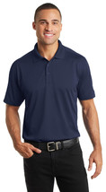 Port Authority K569 Diamond Jacquard Polo Shirt - True Navy - $17.98+